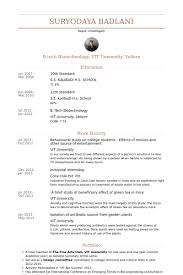 Biotech Resume Sample by College Student Resume Samples Visualcv Resume Samples Database