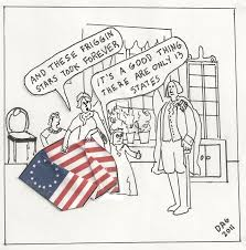 Betsy Ross Flags Betsy Betsy Ross Cartoon Us Flag Cartoon I Know I Made You Smile