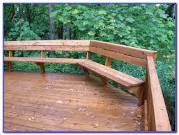 deck bench brackets home hardware decks home decorating ideas