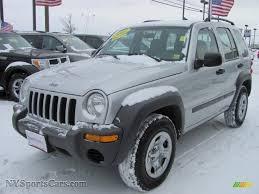 silver jeep liberty 2003 jeep liberty sport 4x4 in bright silver metallic 522851