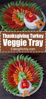 thanksgiving turkey veggie tray can t resist recipe
