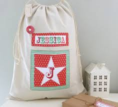 personalised sack by tilliemint notonthehighstreet