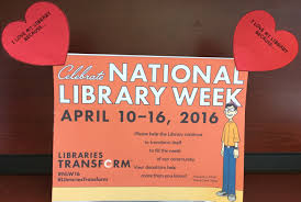 transform your ideas about the library celebrate national library