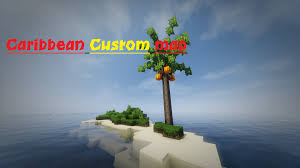 Caribbean Sea On Map by Caribbean Custom Minecraft Map Download Youtube