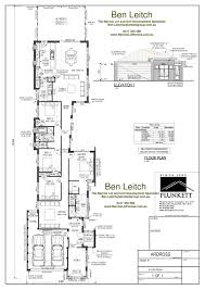 stylish idea narrow lot open house plans 7 17 best images about