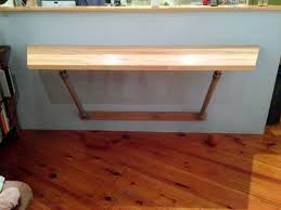 Folding Table Wall Mounted White Wall Mounted Bar Table How To Make A Wall Mounted Bar