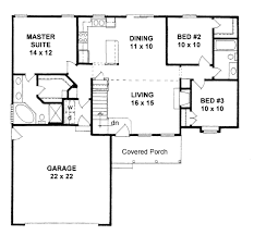 1200 Square Foot House Plans 1200 Square Foot House Plans European Style Plan 3 Beds With Loft