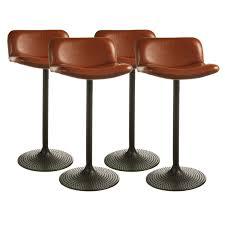 Leather Bar Chair Furniture Belham Living Mason Swivel Leather Bar Stool With