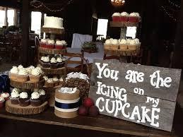 cupcake displays rustic wedding cupcake display words that warm your heart