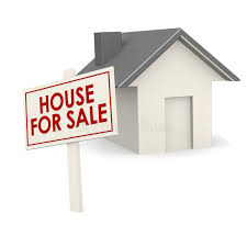 house for sale banner with house stock illustration image 45790371