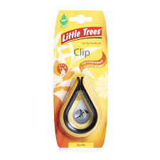 trees car air freshener vent clip vanilla at wilko