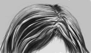how to draw hair video tutorial
