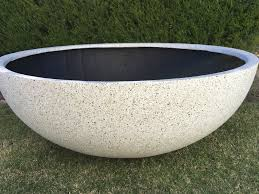 planter trough premium 100x50x40 u2013 outdoor decor