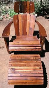 Redwood Adirondack Chair Custom Modern Adirondack Chair Lounger From Reclaimed Redwood By