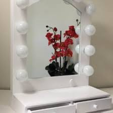 hollywood makeup mirror with lights lighted vanity mirror lighted bathroom mirror wall mount digihome