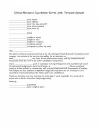 cover letter clinical research