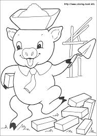 pigs coloring pages coloring book