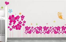 frise chambre bébé accessoire deco chambre bebe 5 ds131 sticker frise de fleurs