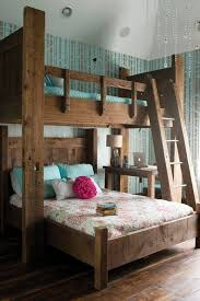 Bedroom Wonderful Best 25 Wooden by Outstanding Best 25 Queen Bunk Beds Ideas On Pinterest Size With