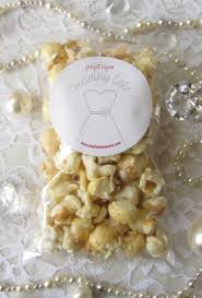 popcorn wedding favors wedding cake flavored popcorn wedding favors