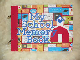 school memories album 9 best school memory books images on memory books