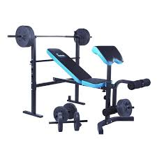 Workout Bench Plans Buy Men U0027s Health Folding Workout Bench With 35kg Weights At Argos