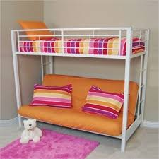 White Futon Bunk Bed White Metal Futon Bunk Bed Furniture Shop