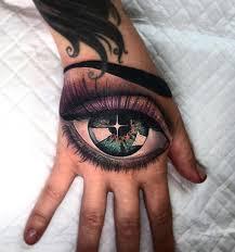 50 classic eye tattoos on hand