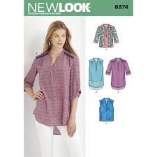 misses u0027 shirts with sleeve and length options simplicity