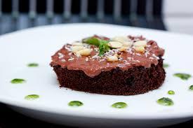 pesto basil chocolate cake with a parmesan sour cream icing bs
