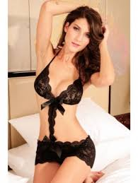 honeymoon nightwear wear black acrylic honeymoon nightwear ng3137 online