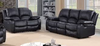 Leather Recliner Sofa 3 2 Harvey Large 3 2 Seater Bonded Leather Recliner Sofas