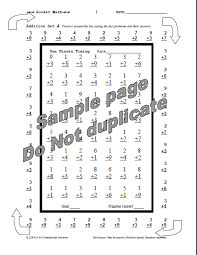 rocket math sample practice sheet a mom knows