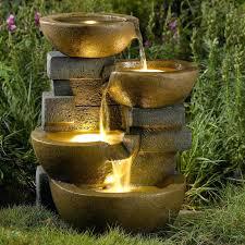 water fountain for backyard small water feature garden ideas decor