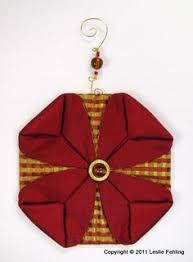 quilted ornament cathedral window 507 cathedrals