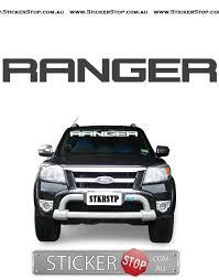 Ford Ranger Truck Decals - ford ranger windscreen sticker u2014 sticker stop