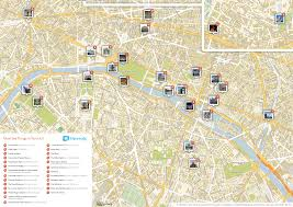 Map Of French Quarter Map Of Paris Main Attractions New Zone 22 Toprated Tourist