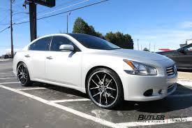 nissan maxima tire size nissan maxima with 22in lexani r twelve wheels exclusively from