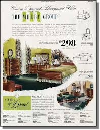 1950 u0027s bedroom ad details about 1950 mulby group by drexel