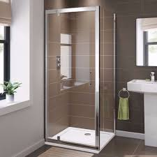 Shower Tray And Door by Bathroom Pivot Door Shower Enclosure Door Tray And Waste In