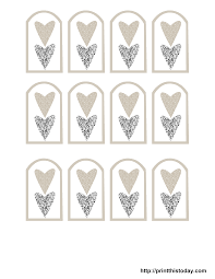wedding gift tags free printable wedding favor tags