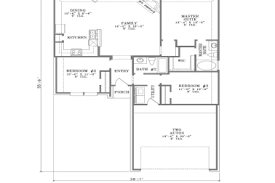 ranch house floor plans open plan 29 open plan house plans house plans open floor plan cottage