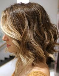 wanded hairstyles gorgeous short ombre bob haircut with waves hairstyles weekly