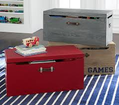 toy storage chest bins u0026 personalized toy boxes pottery barn kids