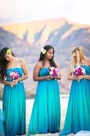 hawaiian themed wedding dresses turquoise wedding dress