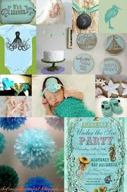 mermaid baby shower theme baby shower diy