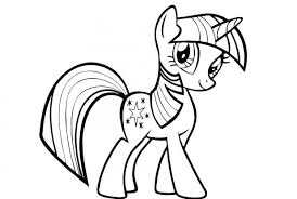 princess twilight sparkle colouring pages pony coloring