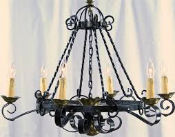 Antique Iron Chandeliers Large Black Wrought Iron Chandeliers Crystal Home Interior