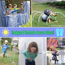 backyard obstacle course home outdoor decoration