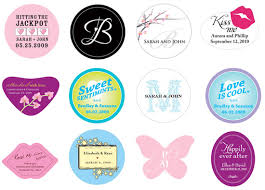 Stickers For Favors by Stuck On You Wedding Favor Stickers